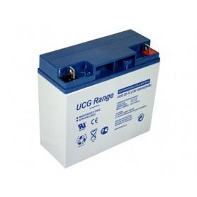 Ultracell UCG20-12 Deep Cycle Gel 12V 20Ah 20000mAh Rechargeable Lead Acid Battery