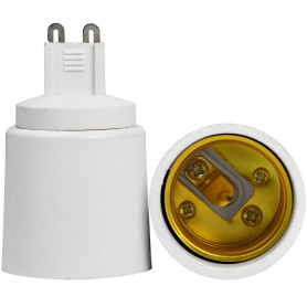 NedRo - G9 naar E27 Fitting Omvormer - Lamp Fittings - LCA02-CB www.NedRo.nl