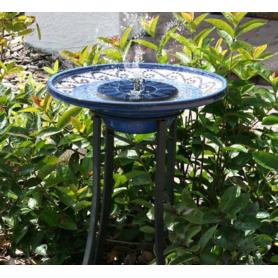 NedRo - Kit de baie pasareasca cu pompa de Solara Pompa de apa pentru piscina, gradina, pompa pentru acvariu - Panouri solare...