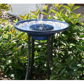 NedRo - Solar Powered Bird Bath Kit Water Fountain Pump For Pool, Garden, Aquarium Pump - DIY Solar - AL1040