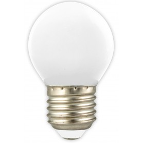 Calex, Calex LED Kogellamp 240V 1W 12lm E27 Warm Wit 2700K, E27 LED, CA0087-CB, EtronixCenter.com