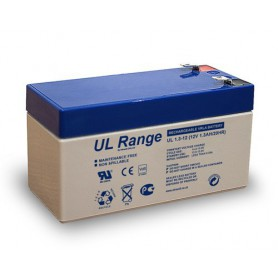 Ultracell, Ultracell VRLA / Lead Battery UL 12v 1300mAh UL1.3-12, Battery Lead-acid , BS286, EtronixCenter.com