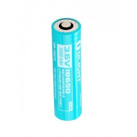 OLIGHT - Olight 3500mAh 3.6V 18650 Rechargeable Li-ion Battery for S30R II / S30R III / S2R Baton - Size 18650 - NK376-CB www...