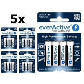 EverActive - Baterii alcaline LR6 AA everActive Pro - Format AA - BL212-CB www.NedRo.ro