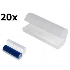 OTB, Cutie de transport PVC pentru bateriile 21700 - transparentă, Accesorii pentru baterii, ON6133-CB, EtronixCenter.com