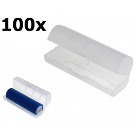 OTB, PVC Transport Box for 21700 Batteries - Transparent, Battery accessories, ON6133-CB, EtronixCenter.com