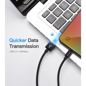 Vention, VENTION 1.5M iPhone Lightning Male to USB 2.0 Male cable, iPhone data cables , V088, EtronixCenter.com