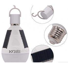 NedRo - 7W E2Bec Solar 7W portabil cu LED-uri reîncărcabil Rezistent la apa - E27 LED - AL1034 www.NedRo.ro