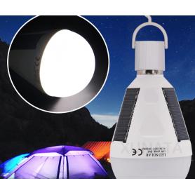 NedRo, 7W E2Bec Solar 12W portabil cu LED-uri reîncărcabil Rezistent la apa, E27 LED, AL1061, EtronixCenter.com