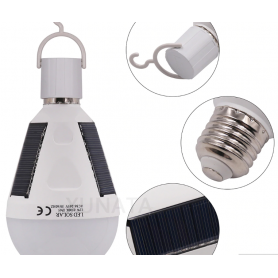 NedRo - 7W E2Bec Solar 12W portabil cu LED-uri reîncărcabil Rezistent la apa - E27 LED - AL1061 www.NedRo.ro