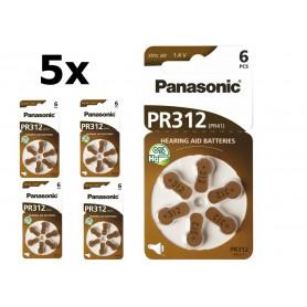 Panasonic - Panasonic 312 / PR312 / PR41 baterii aparate auditive - Baterii plate - BL247-CB www.NedRo.ro