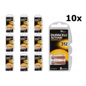 Duracell - Duracell ActivAir 312 MF (Hg 0%) Hearing Aid Gehoorapparaat batterijen - Knoopcellen - BL066-CB www.NedRo.nl