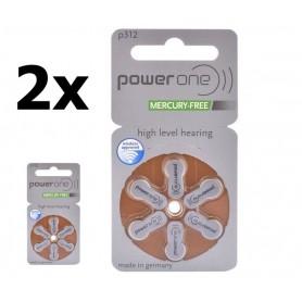 Varta - PowerOne by Varta 312 / PR312 / PR41 Hearing Aid Battery - Hearing batteries - BS088-CB