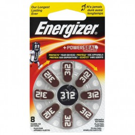 Energizer - Energizer 312 / PR41 baterii aparate auditive - Baterii plate - BL302-CB www.NedRo.ro