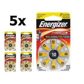 Energizer - Energizer 10 / PR70 1,4V Baterie pentru aparate auditive - fără mercur - Baterii plate - BL304-CB www.NedRo.ro