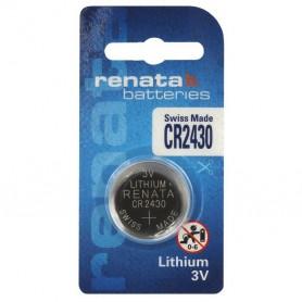 Renata CR2430 3v lithium knoopcelbatterij
