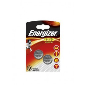 Energizer CR2450 3V lithium button cell battery