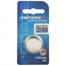 Renata CR2450N 3V Lithium button cell battery