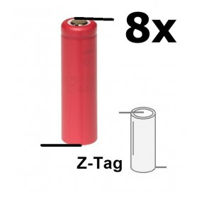 Sanyo, Sanyo UR14500 800mAh 5A Unprotected, Other formats, NK151-CB, EtronixCenter.com