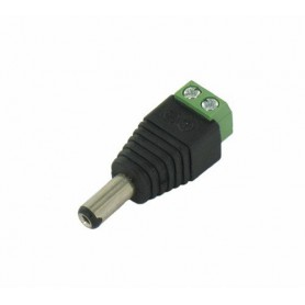 Oem - DC Out Male Socket to Wire Connector - 2 pieces - LED connectors - DCC23-CB