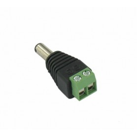 NedRo - DC Out Male Socket to Wire Connector - LED connectors - DCC23 www.NedRo.us