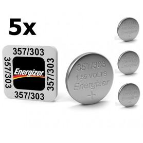 Energizer - Energizer 357-303 /G13 / SR44W 1.5V knoopcel batterij - Knoopcellen - BS309 www.NedRo.nl