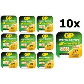GP - GP 377 / 376 / SR 626 SW / G4 1.55V Alkaline button cell battery - Button cells - BL314 www.NedRo.us