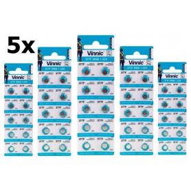 Vinnic - Vinnic 377 / 376 / SR 626 SW / G4 1.55V Alkaline horloge knoopcel batterij - Knoopcellen - BL315 www.NedRo.nl