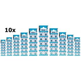 Vinnic - Vinnic 377 / 376 / SR 626 SW / G4 1.55V Alkaline button cell battery - Button cells - BL315-CB