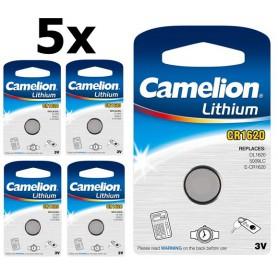 Camelion - Camelion CR1620 3v lithium knoopcelbatterij - Knoopcellen - BS311 www.NedRo.nl