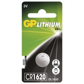 GP CR1620 lithium button cell battery