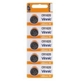 GP - Vinnic CR1620 3v lithium knoopcelbatterij - Knoopcellen - BL319 www.NedRo.nl