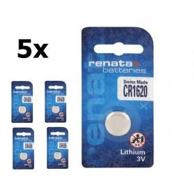 Renata - Renata CR1620 3v lithium knoopcelbatterij - Knoopcellen - NK410 www.NedRo.nl