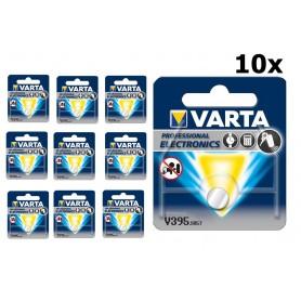 Varta - Varta Watch Battery 399-395/G7/SR927W 1.5V 52mAh - Button cells - BS317-CB