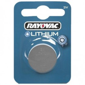 Rayovac - Rayovac CR2025 3v lithium knoopcel batterij - Knoopcellen - BL108 www.NedRo.nl