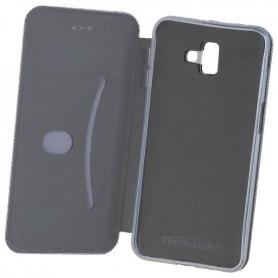 Commander - Commander Book Case voor Samsung Galaxy J6 Plus (2018) - Samsung telefoonhoesjes - ON6212 www.NedRo.nl