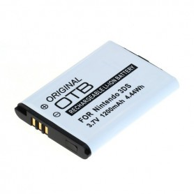 OTB - Battery for Nintendo 3DS / 2DS / Wii U Pro Controller 1200mAh 3.7V - Nintendo Wii U - ON6215 www.NedRo.us