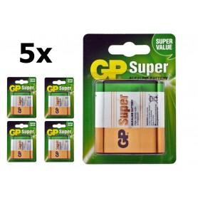 GP, GP Super Alkaline 3LR12/4.5V Batterij, C D 4.5V XL formaat, BS104-CB, EtronixCenter.com