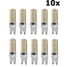 NedRo - G9 10W Bec cu LED-uri Alb Rece SMD3014 96LED`s AL300-10CW - G9 LED - AL300-10CW-CB www.NedRo.ro
