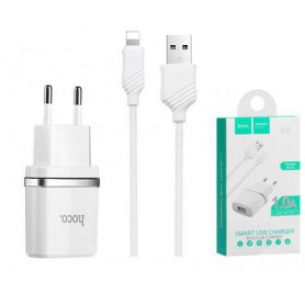 Hoco Premium Lightning 1.0A charger adapter for Apple iPhone