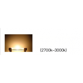 NedRo - R7S 10W 118mm Cold White COB LED Lamp - Dimmable - Tube lamps - AL1068-CB www.NedRo.us