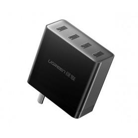 UGREEN - 4 port EU Plug quick charger DC 5V / 6.8A 34W Max 1.5 Meter - Ac charger - UG409-CB