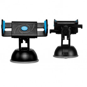 HOCO - HOCO Semi-Automatic Suction Pad Dashboard Mobile Holder - Car dashboard phone holder - H60378-CB www.NedRo.us