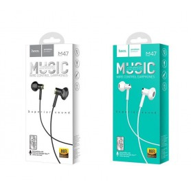 HOCO - Wired earphones 3.5mm M47 Canorous with microfon - Headsets and accessories - H100056-CB www.NedRo.us