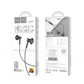 HOCO, Wired earphones 3.5mm M47 Canorous with microfon, Headsets and accessories, H100056-CB, EtronixCenter.com