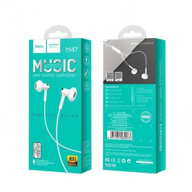 HOCO - Wired earphones 3.5mm M47 Canorous with microfon - Headsets and accessories - H100056-CB