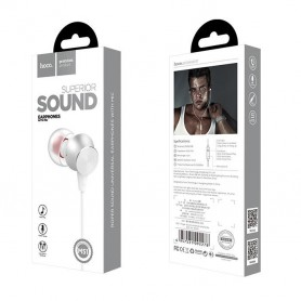 HOCO, Casti M51 HOCO Superior Sound cu microfon, Căști si accesorii, H100185-CB, EtronixCenter.com