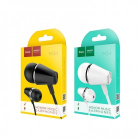 HOCO, HOCO Honor music M34 universal Earphone with microfon, Headsets and accessories, H61122-CB, EtronixCenter.com