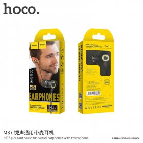 HOCO, Casti HOCO Pleasant M37 cu microfon, Căști si accesorii, H100187-CB, EtronixCenter.com