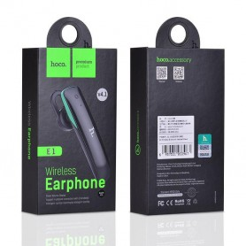 HOCO, HOCO IC Wireless bluetooth v4.1 headset E1, Headsets and accessories, H60389-CB, EtronixCenter.com